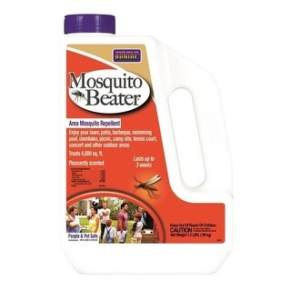 Bonide 5612 Mosquito Beater Natural Granules, 1-1/2 lbs