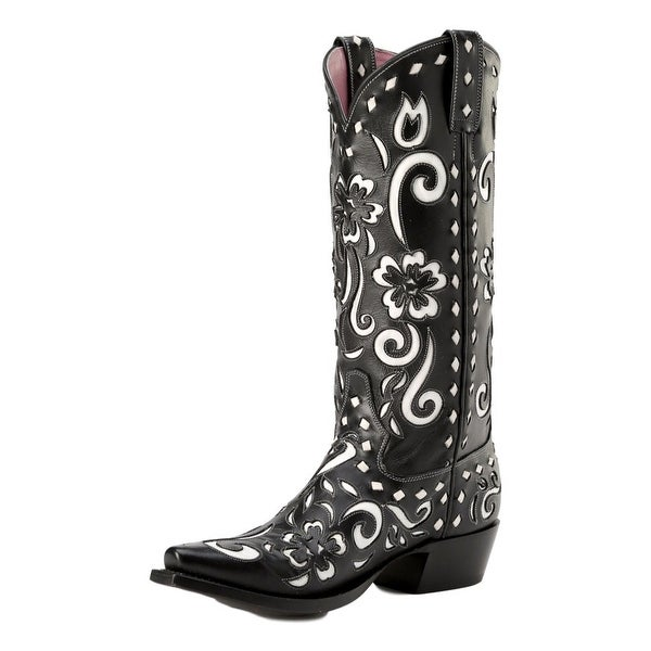 Miss Macie Western Boots Womens Southern Grace Snip Black