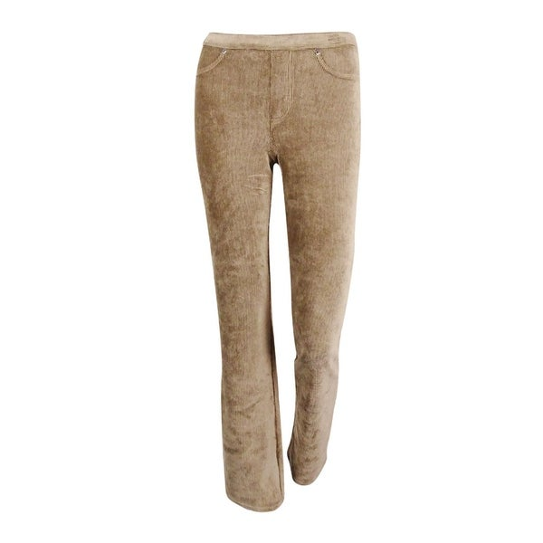 cf360027c6147 Shop Style & Co. Women's Pull-On Boot Leg Corduroy Pants - New Rye - XS  Short - On Sale - Free Shipping On Orders Over $45 - Overstock - 19978206