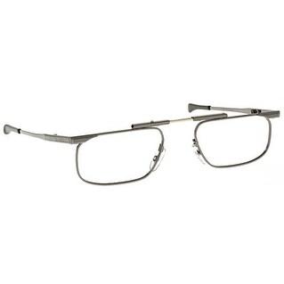 Kanda Slimfold Model 5 Gunmetal Temples 1.50 Folding Reading Glasses