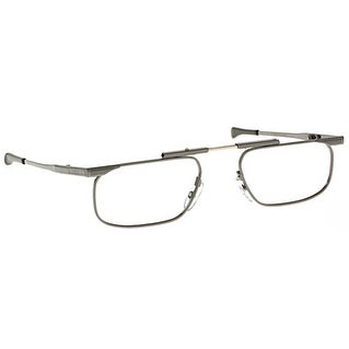 Kanda Slimfold Model 5 Gunmetal Temples 2.00 Folding Reading Glasses