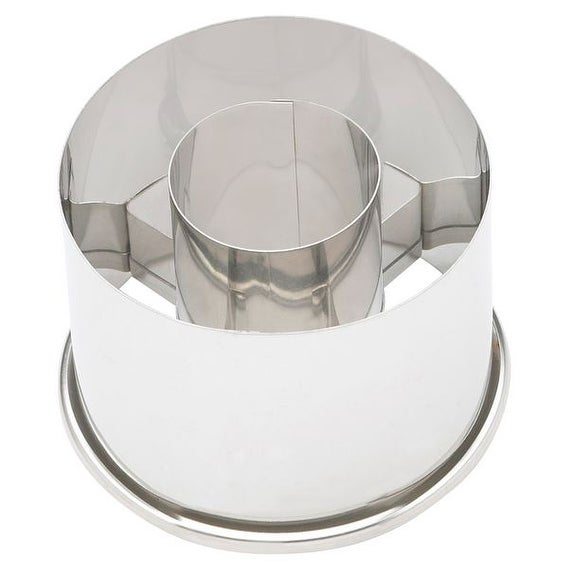 Ateco 14422 Small Doughnut Cutter, Stainless Steel, 2-1/2""