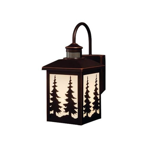 Vaxcel Lighting T0183 Yosemite 1 Light Outdoor Wall Sconce with Cream Glass Shade