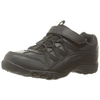 Skechers Kids Breathe-Easy-Fab Phonics School Uniform Shoe (Little Kid/Big Kid), Black, 10.5 M US Little Kid
