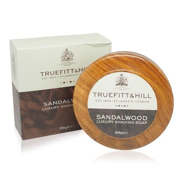 Truefitt & Hill Shaving Soap in Wooden Bowl