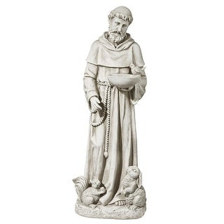 Design Toscano Nature's Nurturer, St. Francis Sculpture: Medium