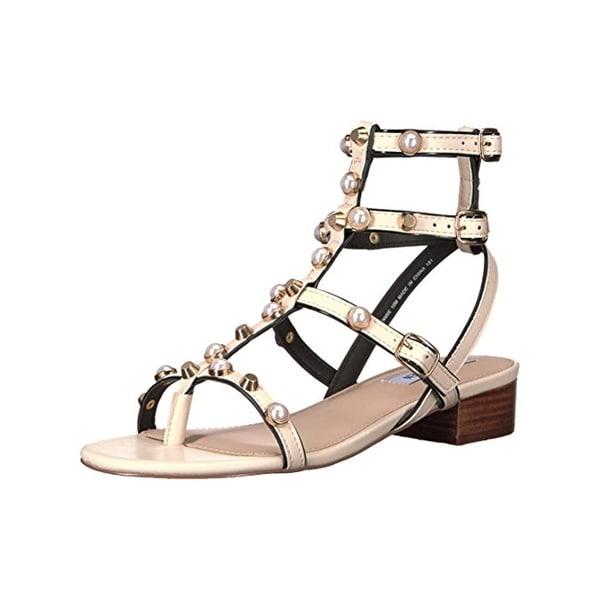 Steve Madden Womens Crowne Gladiator Sandals Open Toe Embellished