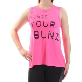JESSICA SIMPSON $19 Womens New 1572 Pink Lunge Your Bunz Top XS Juniors B+B