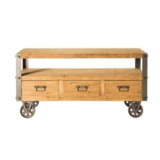 "Moes Home Collection HU-1104 Stockton 48"" Wide TV Stand - Natural