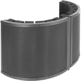 Pyle Industries Portable Vocal Isolation Booth for Audio Recording