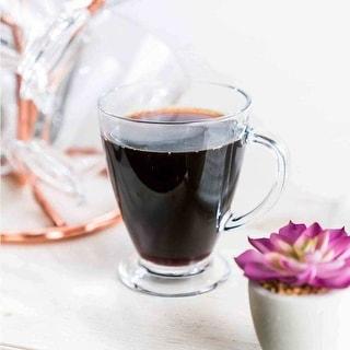 Link to JoyJolt Declan Glass Coffee Mug, Tea Cup with Handle, 16 oz (Set of 6) Similar Items in Dinnerware