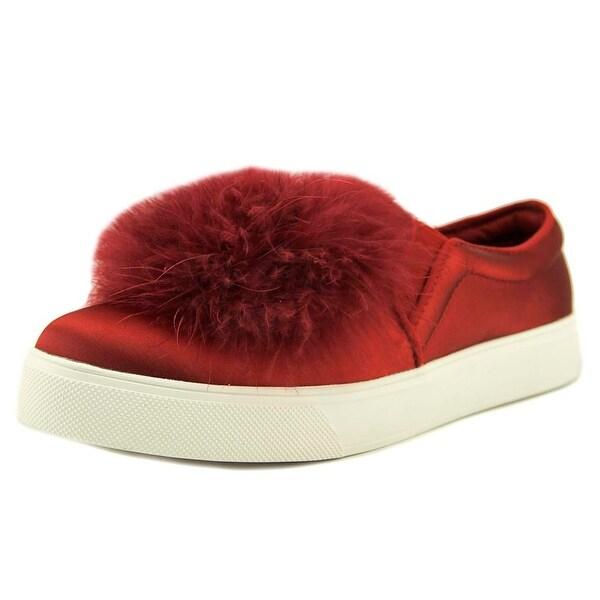 Aldo Acelasien Women Round Toe Canvas Red Loafer