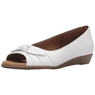 Aerosoles Womens Atta Girl Ballet Flats Leather Open Toe
