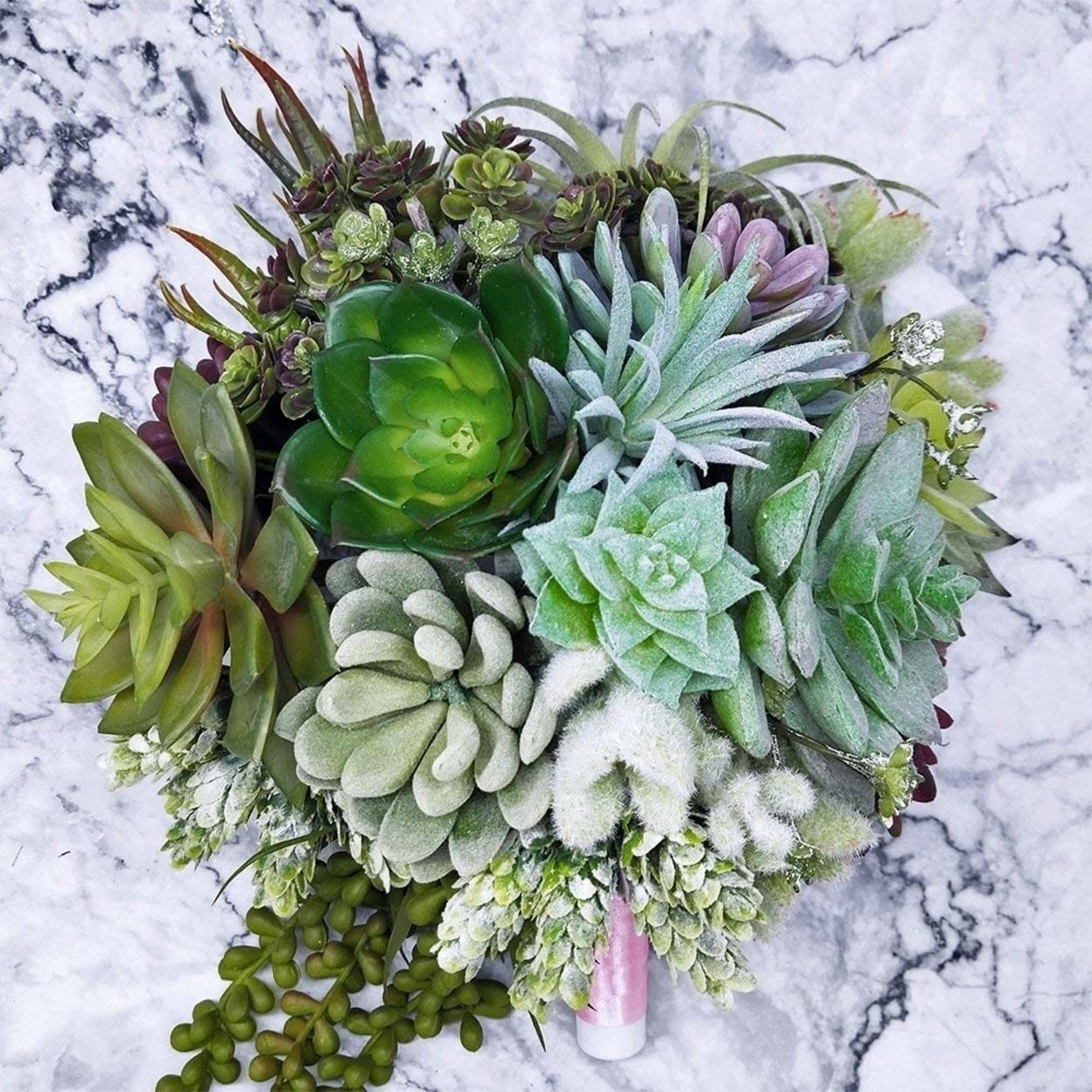 Supla Pack Of 6 Orted Artificial Succulents Plant Picks Textured Faux Succulent Pick Succulent Stems Fake Succulent Bouquet St Overstock 27728531