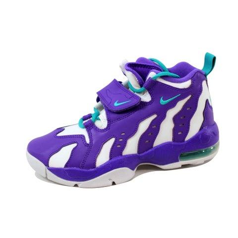Nike Grade-School Air DT Max '96 Purple Venom/Turbo Green-White 616502-501
