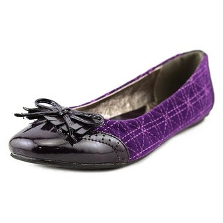 Brooksfield BJFW11SC03 Round Toe Leather Ballet Flats