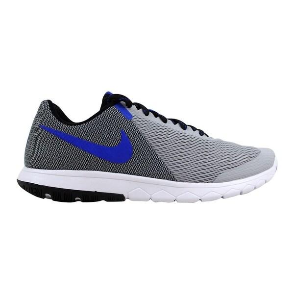 1b6b2d476143 ... Men s Athletic Shoes. Nike Flex Experience RN 5 Wolf Grey Racer Blue-Black  844514-004 Men