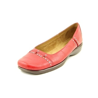 A2 By Aerosoles Maverick Women  Round Toe Leather Red Flats
