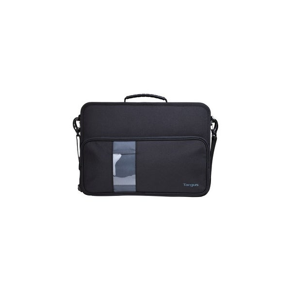 "Targus TKC002 Targus TKC002 Carrying Case (Briefcase) for 14"" Notebook - Black, Gray - Dust Resistant Interior, Scratch"