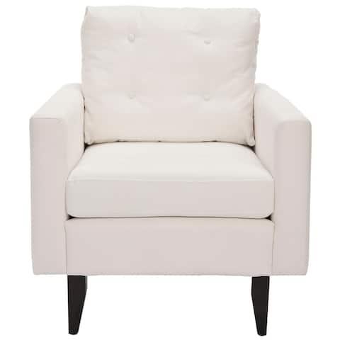 """Safavieh Moonstruck White Club Chair - 29.9"""" x 34.4"""" x 35"""""""