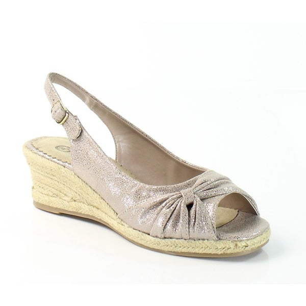 Bella Vita NEW Gold Sangia Too Shoes Size 10 Slingbacks Sandals