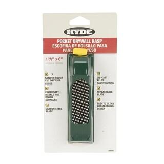 """HYDE 09985 Pocket Drywall Rasp, 1-5/8"""" x 6"""""""