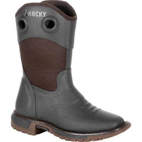 Rocky Kid's: Rubber Western Boot, RKW0292C