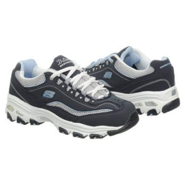 Womens Sneakers Navy/White/Light Blue