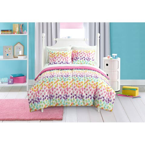 Kids Spotty Rainbow Bed In A B