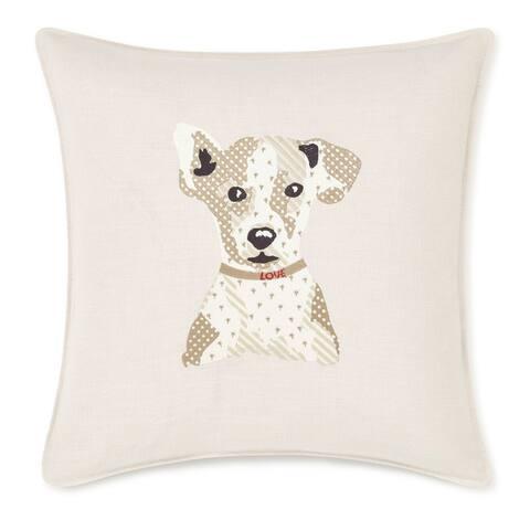 ED Ellen DeGeneres Augie Natural Decorative Pillow