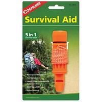 Coghlan's 8634 5-in-1 Survival Aid, Orange