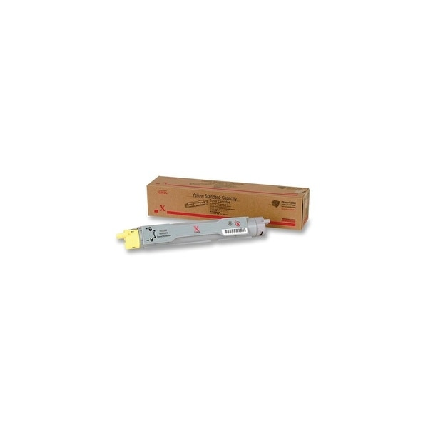 Xerox 106R00674 Xerox Yellow Toner Cartridge - Yellow - Laser - 8000 Page - 1 Each