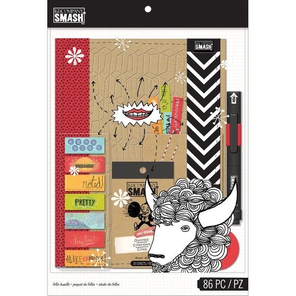 Smash Folio Bundle 86Pcs