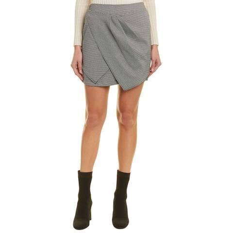 Bcbgeneration Houndstooth Mini Skirt
