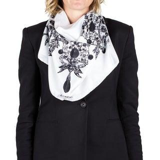 Givenchy Women's Jeweled Pattern Silk Scarf