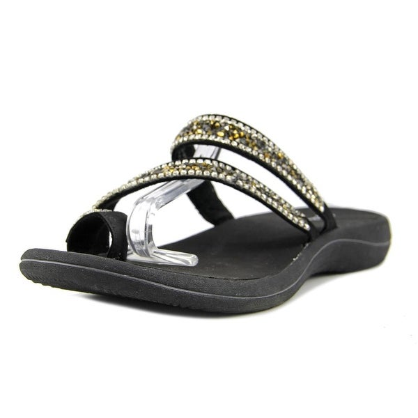 Easy Street Glance Women Black Sandals