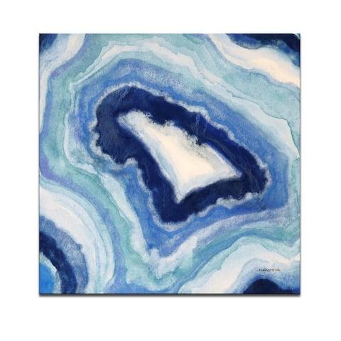 'Ocean Geode I' Wrapped Canvas Wall Art by Norman Wyatt Jr.