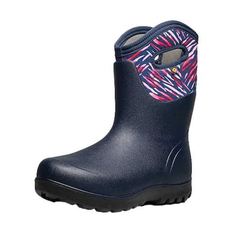 Bogs Outdoor Boots Womens Neo Classic Real Flower WP Insulated