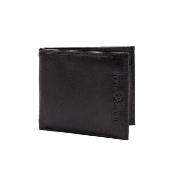Luciano Barbera Club SASA Leather Wallet Black