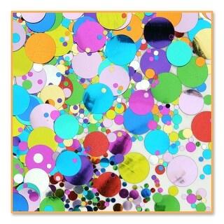 Pack of 6 Multi-Colored Party Polka-dot Celebration Confetti Bags 0.5 oz. - Multi