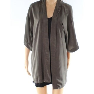 Ro & De NEW Olive Green Women's Size Small S Open Front Cardigan Jacket