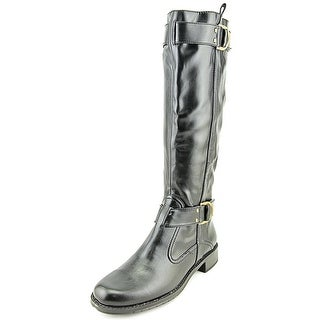 A2 By Aerosoles Rideline W Round Toe Synthetic Mid Calf Boot