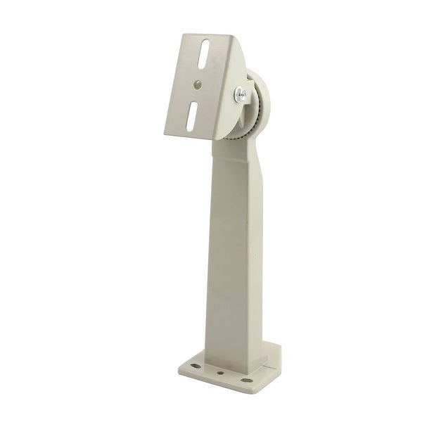 Wall Mount CCTV Security Camera Housing Mounting Bracket Gray 300mm Height