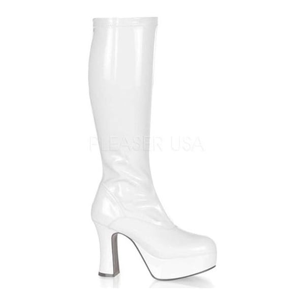 5c5bd3e8f3e Shop Funtasma Women s Exotica 2000 White Stretch Patent - On Sale - Free  Shipping On Orders Over  45 - Overstock - 22866430