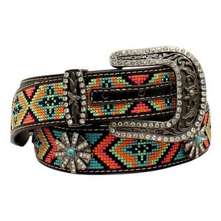 Blazin Roxx Western Belt Womens Beaded Aztec Multi-Color N3522601|https://ak1.ostkcdn.com/images/products/is/images/direct/12663ecf5db8fe8d58d95a3de8f210e83e4fffd1/Blazin-Roxx-Western-Belt-Womens-Beaded-Aztec-Multi-Color-N3522601.jpg?impolicy=medium