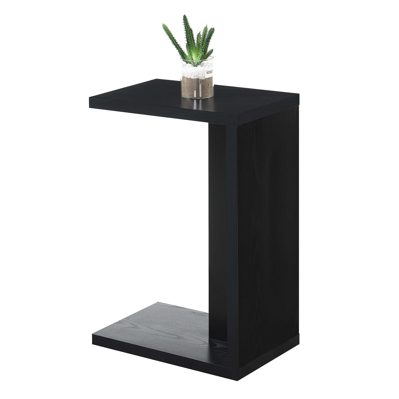 Porch Den Woodshire C Shaped End Table On Sale Overstock 28387179