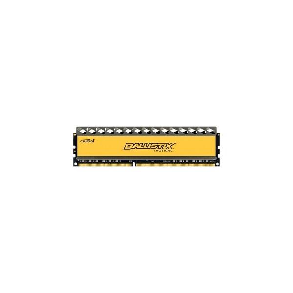 """""""Crucial BLT4G3D1608DT1TX0 Crucial Ballistix Tactical 4GB DDR3 SDRAM Memory Module - 4 GB (1 x 4 GB) - DDR3 SDRAM - 1600 MHz"""