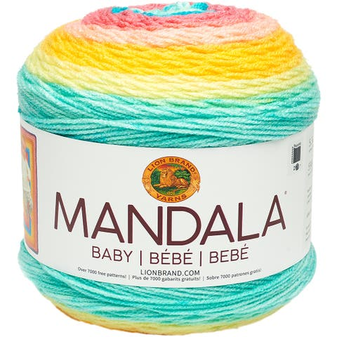 Lion Brand Yarn Mandala Baby-Honeydukes - Multicolor