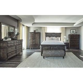 Link to Avenue Weathered Burnished Brown Panel Bedroom Set Similar Items in Bedroom Furniture