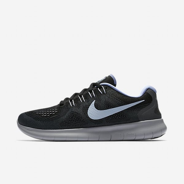 Nike Mens Free Fabric Low Top Lace Up Running Sneaker - 6